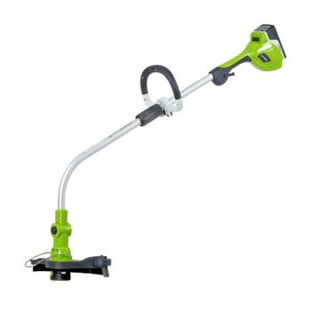 Greenworks 21072 12-Inch 20-Volt 2.6 Amp/Hour Lithium Ion Cordless Electric String Trimmer/Edger