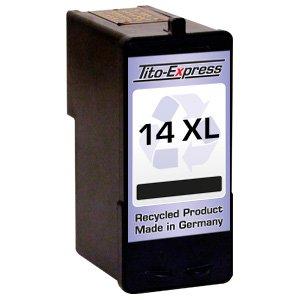 1x Druckerpatrone für Lexmark 14 XL Black X2600 Z2300 Z2310 Z2320 PlatinumSerie