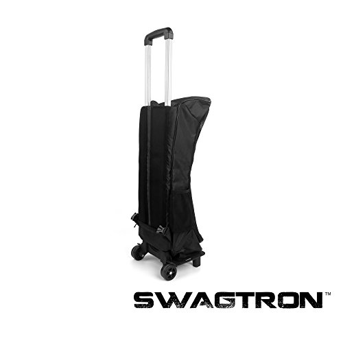 Swagway SwagTron T1 & T3 Rolling Carrying Case Backpack with Suitcase Handle and Wheels - Fits Swagway X1, X2, SwagTron T1 T3 and T5, and all generic Hoverboards (Dirt Board Wheels compare prices)