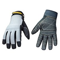 YoungstownGloveProducts Glove Mesh Top Reinforced Med, Sold as 1 Pair