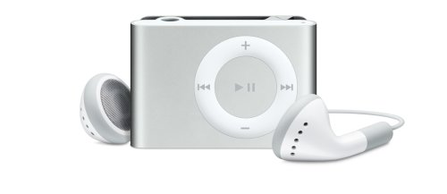 Apple iPod shuffle 1 GB Silver (2nd Generation) OLD MODEL by Apple