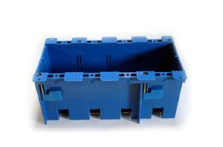 New Carlon B468r Deep Four Gang Pvc Old Work Electrical Box