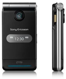 Sony Ericsson Z770i Graphite Black GSM Unlocked Tri-band Phone