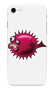Dreambolic grumpy-fish Back Cover for Apple iPhone 7