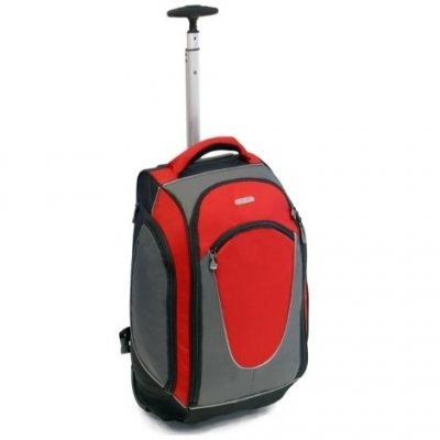 Urban Sport Medium 48 Litres Wheeled Backpack (Red) by Urban Sport