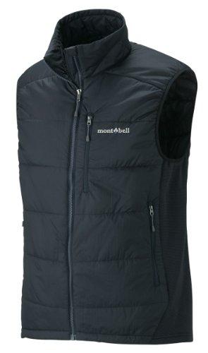 (モンベル)mont-bell U.L.サーマラップ ベスト Men's 1101437 BK ブラック XL