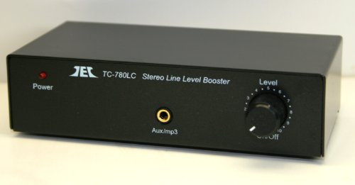 Tcc Tc-780Lc Stereo Line Level Amp / Booster With Ipod Jack; Black Version