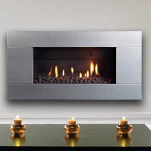 Escea Indoor Gas Stainless Steel Fireplace