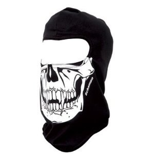 Amazon.com: Schampa Skull Balaclava (Black, One Size ...