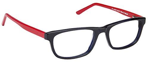 Vincent Chase VC 6513 Dark Blue Red C2 Eyeglasses(102047)