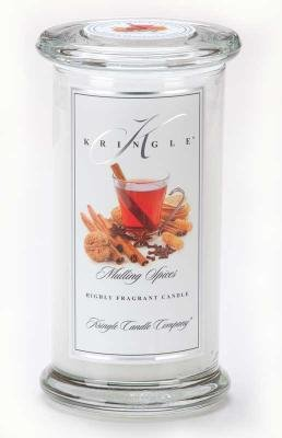 Kringle Candle Company Large Classic Apothecary Jar - Mulling Spices