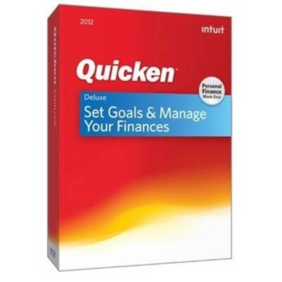 Intuit Quicken 2012 Deluxe - Complete Product - 1 User (431325) -