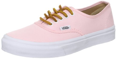 b866e2483d Vans Authentic Slim Brushed Twill Soft Pink Shoes UK 5.5