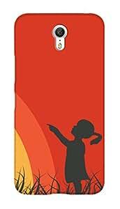SWAG my CASE PRINTED BACK COVER FOR LENOVO ZUK Z1 Multicolor