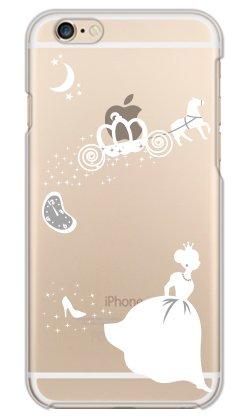 携帯電話taro iPhone6/iPhone6S 専用 ケース カバー (シンデレラ B/ホワイト) Apple iPhone6S-YSZ-0175