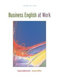 Business English At Work Student Text/Premium OLC Content...