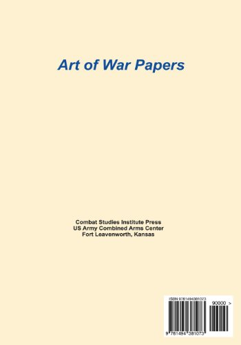 Stabilizing the Debate Between Population and Enemy-Centric Counterinsurgency: Success Demands a Balanced Approach (Art of War Papers)