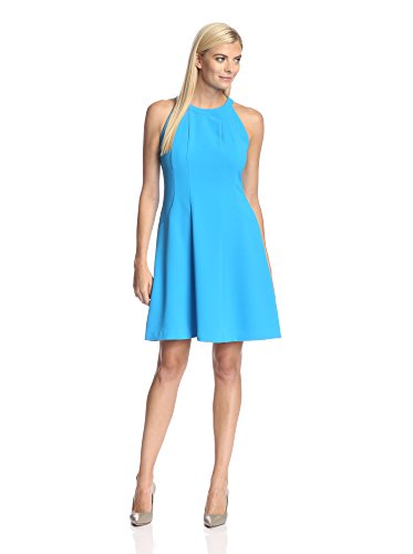 Marc New York Women's Sleeveless Fit-and-Flare Dress