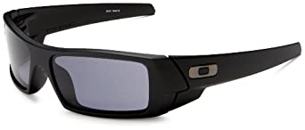 Oakley Men's GasCan Sunglasses,Matte Black Frame/Grey Lens,One Size