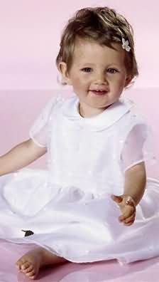 Burda 9804 Christening Dress (2 Styles), Bonnet, Jacket, (Size 3 Months - 18 Months) Sewing Pattern front-466820