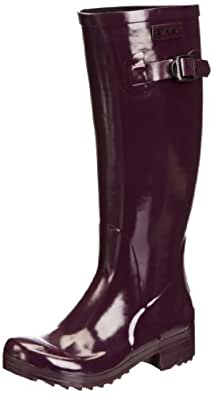 Aigle Brillantine, Women's Wellington Boots, Aubergine, 2.5 UK (35 EU)
