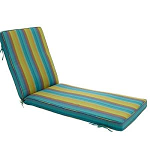 Sunbrella Outdoor Chaise Lounge Cushion Deluxe 8 Patio Law