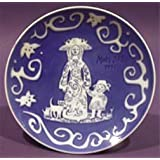 ROYAL COPENHAGEN 1971 Porcelin Mother's Day Plate - The American Mother