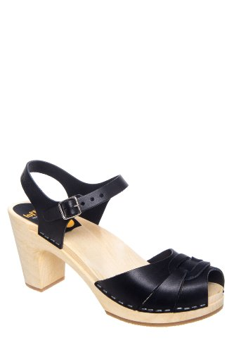 Swedish Hasbeens Peep Toe Super High Sandal