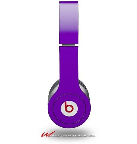 Wraptorskinz Solids Collection Skin For Beats Solo Hd Headphones, Purple