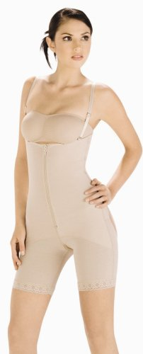Body Line Shape Wear, Bra-less Body Girdle Style 1009, Beige/Sizes XSmall - XXXLarge