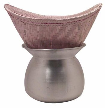 Thai Sticky Rice Steamer (basket only) (Sticky Rice Pot Only compare prices)