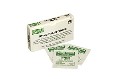 Pac-Kit 19-002 Sting Relief Wipes (Box of 10) from Acme United
