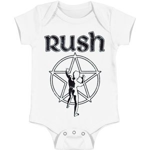 Rush Starman Onesie 6 - 12 Months back-15992