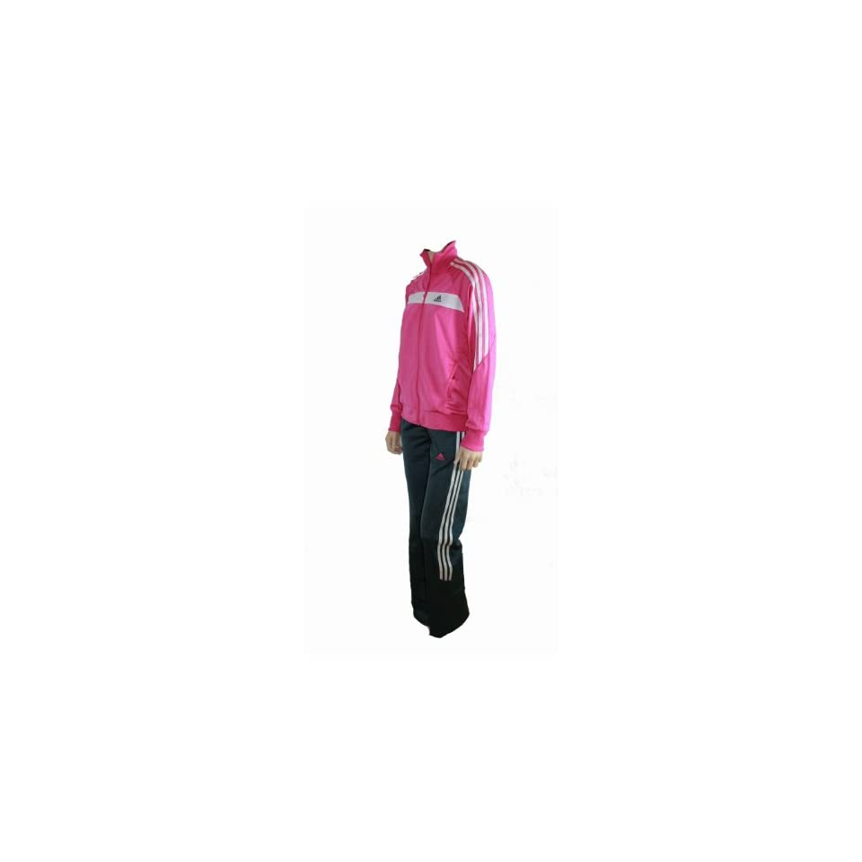 Adidas Kinder Trainingsanzug für Mädchen Pink Rosa Größe