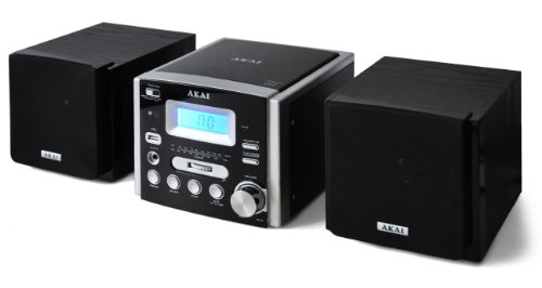 akai mini stereoanlage micro system mp3 cd player usb 2 0. Black Bedroom Furniture Sets. Home Design Ideas