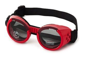 Doggles Dog Goggles ILS Flames Frame / Orange Lens - Small