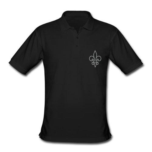Spreadshirt, Men's Classic Polo Shirt, black, L