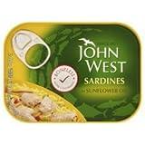 John West Boneless Sardines in Sunflower Oil 95g