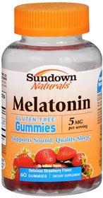 Sundown Melatonin Gummies, 60 Count