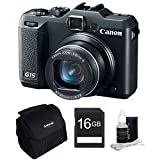Canon PowerShot G15 12MP Digital Camera with 3-Inch LCD (Black)
