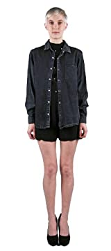 INDIANA SHIRT BLACK DENIM WASH