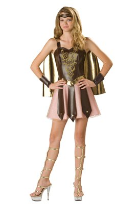 Colosseum Cutie Teen Costume, Large front-538872