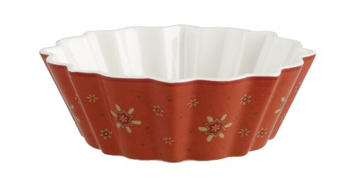 Villeroy & Boch Toy's Fantasy Small Candy Bowl, Orange with Doll