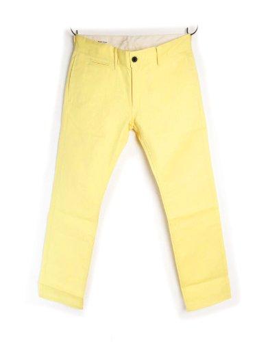 【バックヘッド】 BACK HEAD #Chino Pants チノパン Made In USA (W30, Banana Yellow)