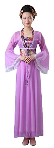Chinese Style Stage Costume Women's&Girl's 7 Fairies Dresses Halloween Cosplay HanFu