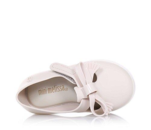 MINI MELISSA - Ballerina beige, Ballerina beige realizzata in plastica MELFLEX, una gomma profumata, biodegradabile ed ecologica, Bambina-22-23