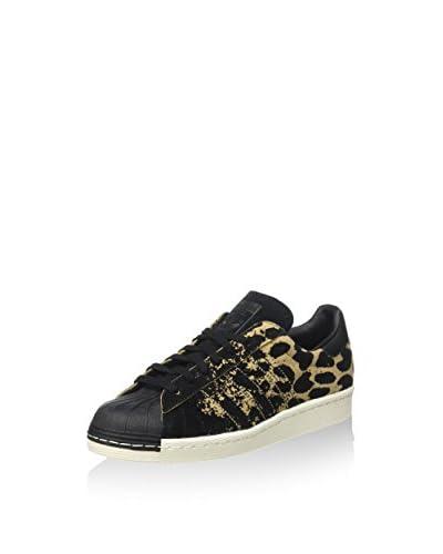adidas Sneaker Superstar 80S W leopard/schwarz
