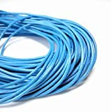 Angel Malone 5mtrs x 1mm Sky Blue Superior Korean Wax Cord Perfect 4 Shamballa