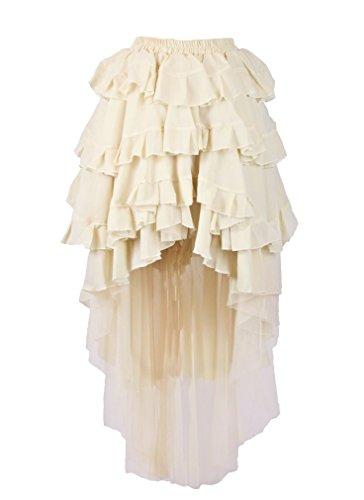 Burleska-Womens-Steampunk-Ophelie-Skirt