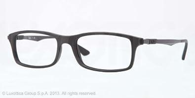 Ray-Ban Glasses 7017 5196 Black 7017 Rectangle Sunglasses